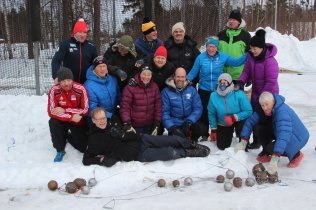First Ever Norwegian Masters Throwing Championships.
