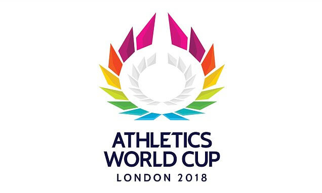 Athletics World Cup London 2018 Logo